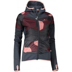 2117 BLIXBO - ECO dámská hybridní bunda - šedo růžová - 34