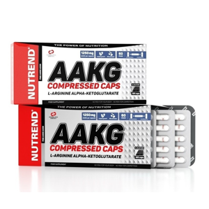 AAKG Compressed Caps - Nutrend 120 kaps.