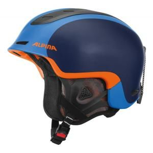 Alpina Spine - 52-56, blue-orange matt