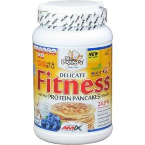 Amix Mr.Poppers Fitness Protein Pancakes 800g - Blueberry yogurt (dostupnost 7 dní)