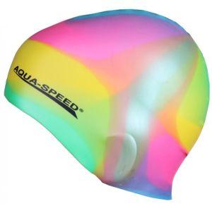 Aqua-Speed Bunt koupací čepice POUZE barevná (VÝPRODEJ)