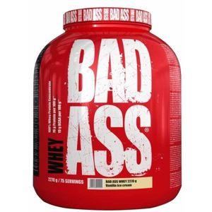 Bad Ass Whey 2270g zmrzlina - bílá čokoláda - brusinka