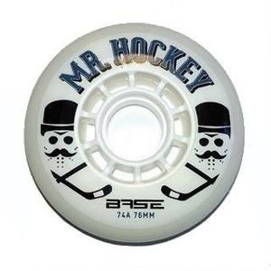 Base Mr. Hockey Pro Indoor (1ks) kolečka na inline hokej - 74A, 72mm