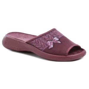 Befado 442D192 vínové dámské papuče - EU 38