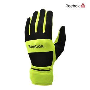 Běžecké rukavice žluté - vel. M