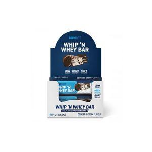 Body & Fit Whip 'N Whey Bars Příchutě: Dvojitá čokoláda, Hmotnost: 57g