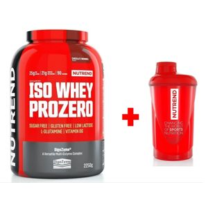 Iso Whey Pro Zero - Nutrend 2250 g Chocolate Brownies