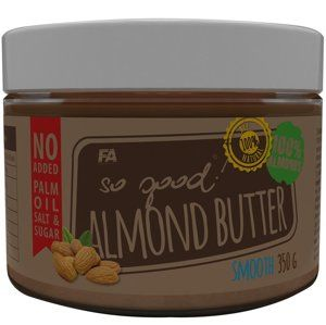 Mandlové máslo: Almond Butter - Fitness Authority 350 g Crunchy