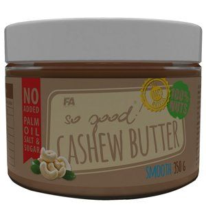 Kešu máslo: Cashew Butter - Fitness Authority 350 g Smooth