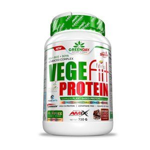 Greenday Vegefiit Protein - Amix 720 g Double chocolate