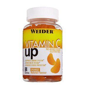 Vitamin C UP Gummies - Weider 84 gummies Orange