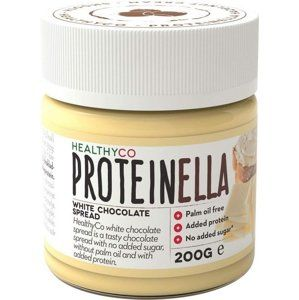Proteinella White Chocolate - HealthyCo 200 g White Chocolate