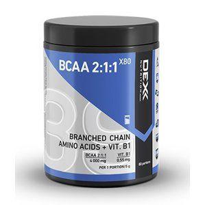 BCAA 2: 1: 1 X80 Powder - Dex Nutrition 400 g  Orange+Grapefruit