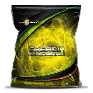 Creatine Monohydrate - Still Mass 500 g Green Apple