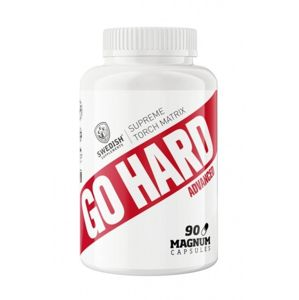 Go Hard - Swedish Supplements 90 kaps.