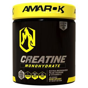Black Line Creatine Monohydrate - Amarok Nutrition 500 g Tropical