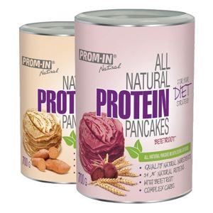 All Natural Protein Pancake 1 + 1 Zdarma - Prom-IN 700 g + 700 g Beetroot