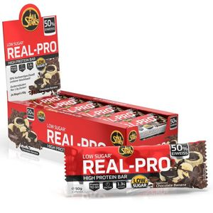 Tyčinka: Real-Pro 50% - All Stars 50 g Lemon Cheesecake