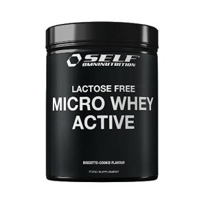 Micro Whey Active Lactose Free od Self OmniNutrition 1000 g Biscotto Cookie