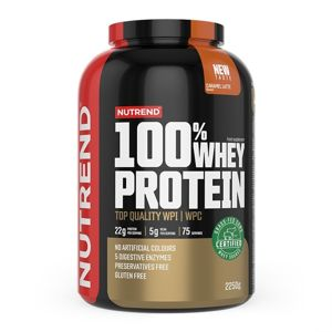 100% Whey Protein - Nutrend 30 g (1 dávka) Banana+Strawberry