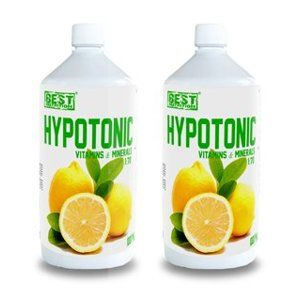 1 + 1 Zdarma: Hypotonic Sport Drink od Best Nutrition 1000ml+1000ml Malina