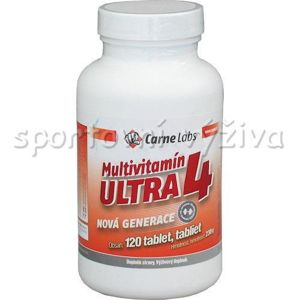 Carne Labs Multivitamin Ultra 4 120 tablet (VÝPRODEJ)