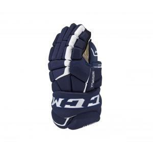 Hokejové rukavice CCM Tacks 9080 JR - Junior, 11, tmavě modrá-bílá
