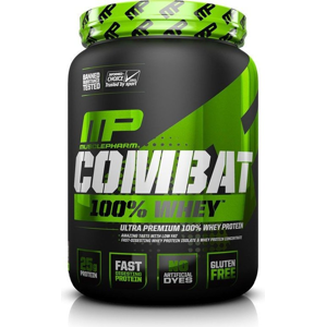 Combat 100% Whey Protein - MusclePharm 2270 g Cookies & Cream