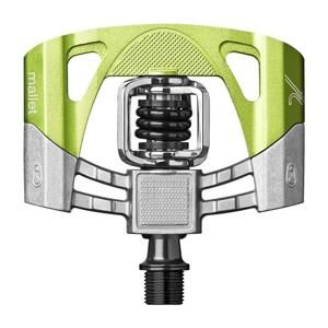 Crankbrothers Mallet 2 pedály - Electric Lime/Black