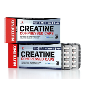 Creatine Compressed Caps - Nutrend 120 kaps.