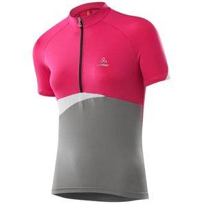 Löffler CROSS 2013 dámský cyklistický dres - 42 - růžová