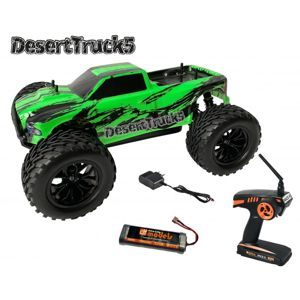 DesertTruck 5 Brushed Monster truck 1:10 RTR + Nanoprotech 75ml impregnace