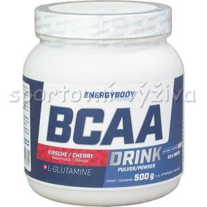 Energy Body Bcaa Drink 500g - Jahoda vanilka