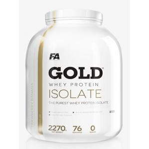 Fitness Authority Gold Whey Protein Isolate 2270 g Vanilka