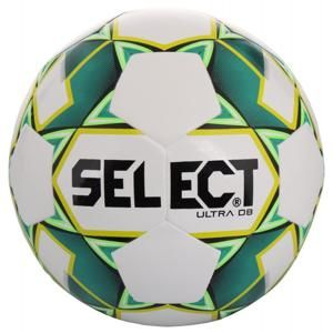 FB Ultra DB 2019 fotbalový míč č. 5;bílá-zelená