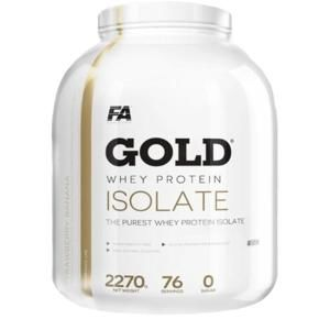 Fitness Authority Gold Whey Protein Isolate 2270g - vanilka