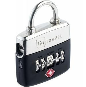 Go Travel zámek Birthday TSA Lock black