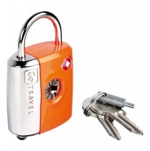 Go Travel zámek Dual Combi/Key TSA Lock orange