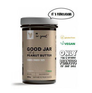 Good Jaro Peanut Butter - Fitness Authority 500 g Crunchy