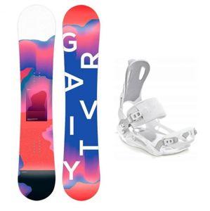 Gravity Sirene 19/20 dámský snowboard + Raven Fastec white vázání - 151 cm + S (EU 35-40)