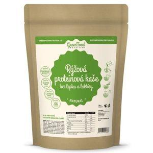 GreenFood Rýžová proteinová kaše bez lepku a laktózy 500 g - bez příchutě