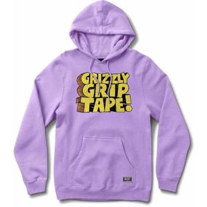 Grizzly Nostalgic Hoodie Lavander (LAV) mikina - L