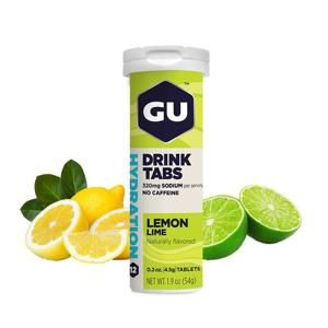 GU Hydration Drink Tabs 54 g lemon/lime 1 tuba (balení 8ks)