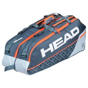 Head Core 6R Combi 2020 taška na rakety - červená