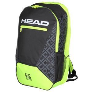 Head Core Backpack 2019 sportovní batoh - černá-žlutá