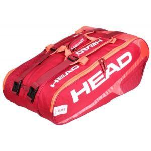 Head Elite 12R Monstercombi 2018 taška na rakety - červená-růžová