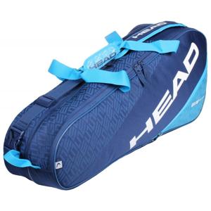 Head Elite 6R Combi 2020 taška na rakety - antracitová-růžová