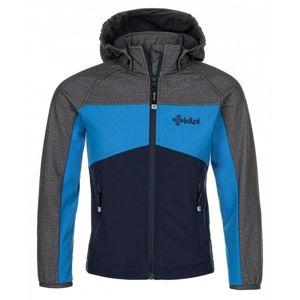 Kilpi MILO-J tmavě modrá dětská softshell bunda - 98