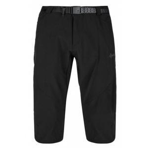 Kilpi OTARA-M černé nadměrné 3/4 šortky + šátek Kilpi - 5XL