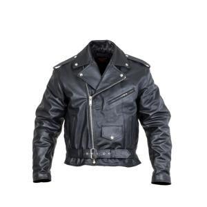 Kožená moto bunda Sodager Live To Ride Jacket Barva černá, Velikost 3XL